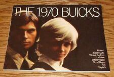 1970 Buick Full Line Deluxe Sales Brochure 70 Lesabre Electra GS 455 Skylark