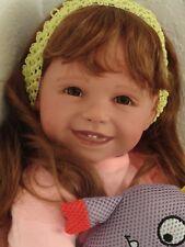 """Reborn 22"""" Toddler Girl  Doll """"Sierra"""""""