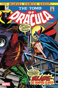Tomb of Dracula #10 (Facsimile Edition / 1st Blade / 1973 / NM)