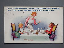 R&L Postcard: Comic, Regent Publishing, Greedy Boy, Reg Maurice 4473
