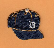 DETROIT TIGERS Small 1 1/2 in LOGO PATCH HAT POLO SHIRT BAG IRON ON Unsold Stock