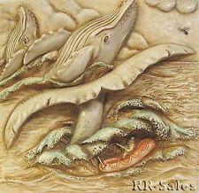 Blue Whale Watch Tile Ishmael Moby Dick Harmony Kingdom Noahs Park Picturesque