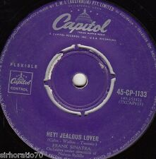 FRANK SINATRA Hey! Jealous Lover / You Forgot All The Words 45