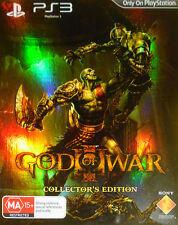 God of War III -- Collector's Edition (Sony PlayStation 3, 2010)