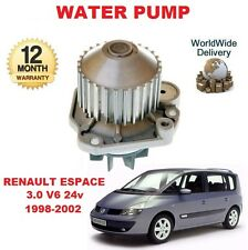 FOR RENAULT ESPACE 3.0 V6 24v 1998-2002 NEW WATER PUMP