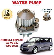 Pour RENAULT ESPACE 3.0 V6 24V 1998-2002 nouvelle pompe à eau