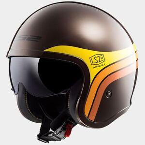 LS2 OF599 Spitfire Motorcycle Open Face Urban Scooter Helmet
