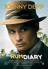 The Rum Diary (2011) Movie Poster (24x36) - Johnny Depp, Giovanni Ribisi NEW