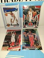 2019-20 Prizm Rui Hachimura Card Rookie Lot and Troy brown RC Washington Wizards