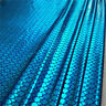 Mermaid Tail Metallic Sparkly Hologram Spandex Fabric Scale Half / By the Meter