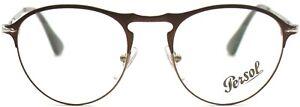 Persol Damen Herren Brillenfassung PO7092-V 1072 50mm matt braun Vollrand 295 3