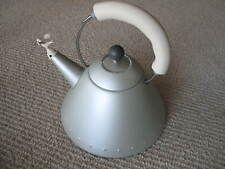 Michael Graves Alessi Bird Tea Kettle 9093 GO Gold Titanium Matte Rare New