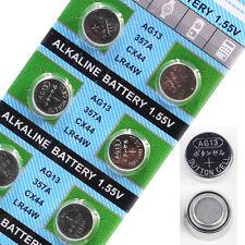 10pcs CX44 LR44 AG13 L1154 1.55V Alkaline Button Coin Cell Batteries Genuine