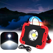 COB LED Work Spot Light USB Rechargeable Handle Flashlight Torch Camping Lamp