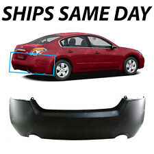 NEW Primered - Rear Bumper Cover for 2007-2012 Nissan Altima Sedan / Hybrid