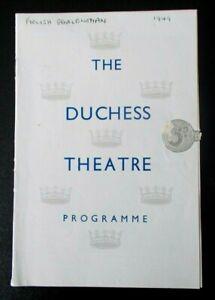 The Foolish Gentlewoman programme Duchess Theatre 1949 Sybil Thorndike 4-3-49