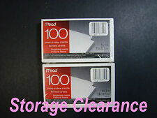 Mead Plain Index Cards 2 pk 100 count 3 x 5 in (7.6 x 12.7 cm)