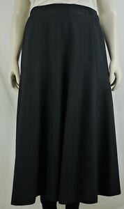 Women`s Long Skirt Back Elasticated Waist Plain. Plus Sizes (14-32)