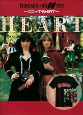 Threads and Grooves: Little Queen [with T-Shirt] by Heart (CD, 2013, Sony Legacy