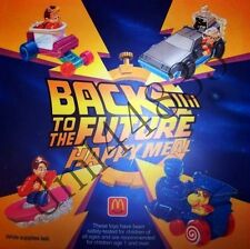 1992 McDonalds Back to the Future MIP Complete Set - Lot of 4, Boys & Girls, 3+