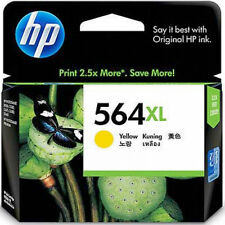 HP 564XL Color Yellow Genuine Ink Cartridge For Photosmart 5445 5460 C6340 C6350