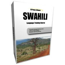PM LEARN TO SPEAK SWAHILI LANGUAGE TRAINING COURSE PC CD NEW