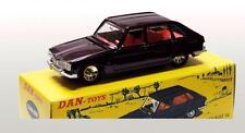 Dan-Toys Renault 16 Prune Métal .1/43 DAN 088