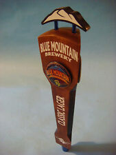 BEER Wood Tap Handle ~*~ BLUE MOUNTAIN Brewery Classic Lager ~*~ Afton, VIRGINIA