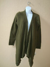 Bar III New Womens Montreal Military Olive Sweater Shrug Large