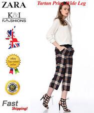 Zara Wide Leg Silk Trousers for Women
