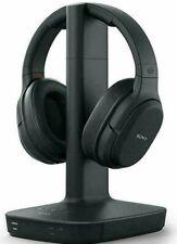 Sony L600 Digital Surround Sound Wireless Rf Headphones Wh-L600 Black