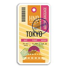 2 x 10cm Tokyo Japan Vinyl Stickers - Cool Travel Sticker Laptop Luggage #18448