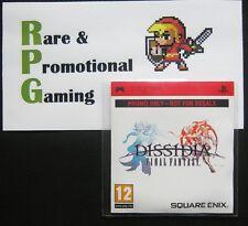 PSP - Dissidia Final Fantasy - Very Rare Press Promo UMD - NEW & SEALED