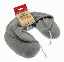 GLOBETREK gris à capuche sweat à capuche u forme voyage cou oreiller coussin maison de vacances voiture