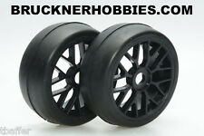 1:8 Sintec GT Rubber Slick Black Spoke Rims S055 40 shore Ebay Free shipping