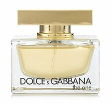 The One By Dolce & Gabbana 2.5 Oz / 75ML EDP Spray New Tester Perfume For Women