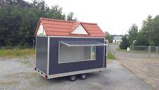Verkaufsanhänger BSC mit Dach - 420x230x230 + 100 cm Verkaufswagen 2700 kg GG