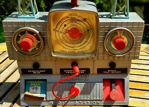 DAN DARE Merit Electronic Space Control Radio Station *Spares/Repair* 1950s