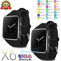 Waterproof Smart Watch for iPhone iOS Android Phone Bluetooth Fitness Tracker US
