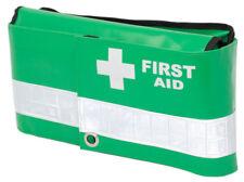 Multi Fold Green Wipe Down Emergency Paramedic First Aid Bum Bag (Dura Bag)