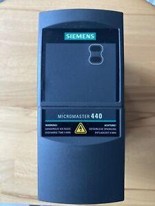 Siemens Micromaster 440 0,55kw
