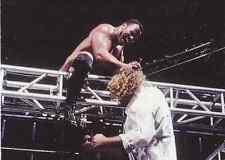 2000 Comic Images WWF WWE Rock Solid #55 Rock vs. Ken Shamrock & Mankind