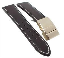 Citizen Ersatzband Leder dunkelbraun 23mm passend zu Elegant Chrono AT8019-02W