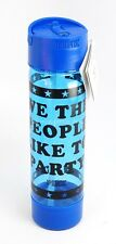 """Victoria's Secret PINK """"We The People Like To Party"""" Campus Water Bottle 24oz"""