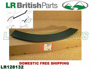 GENUINE LAND ROVER REAR WHEELARCH FRONT MOULDING DISCOVERY SPORT RH LR128132