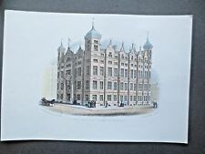 The Sailors' Home Liverpool Coloured Print of an Engraving by John Isaac