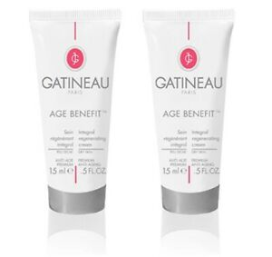 2 x Gatineau Paris Age Benefit Integral Regenerating Cream for Dry Skin 15ml New