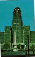 Vintage Postcard - Un-Posted City Hall Building Buffalo New York NY #3682
