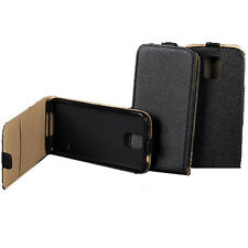 Pochette Housse s-CUIR Pocket Etui Slim Flip Case Coque Silicone HTC DESIRE 610