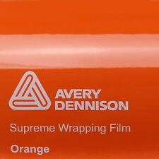 ( 21,70€/m ²) Avery Supreme ENVOLTURA FILM Brillante Naranja Brillo swf